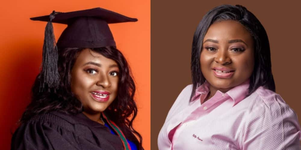 NSS Deputy boss Gifty Oware-Aboagye bags master's of Science in Defense and International Politics (photos)