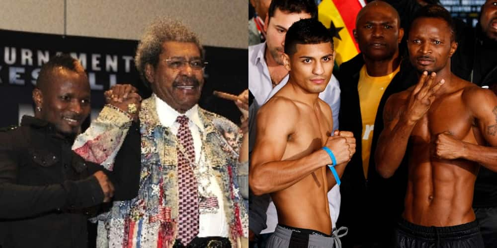 My defeat by Abner Mares was caused by Don King - Joseph Agbeko