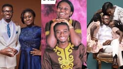 Ghanaian pastor & wife married for 9 years inspire many with then and now photos