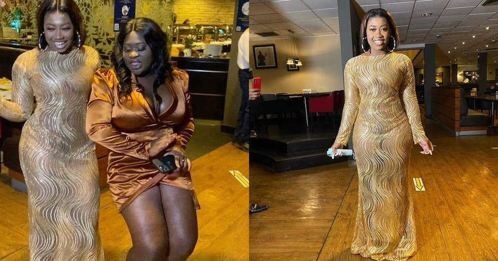 Videos and pictures of Shugatiti's birthday party pop up; Afia Schwarzenegger, Sista Afia celebrate with her