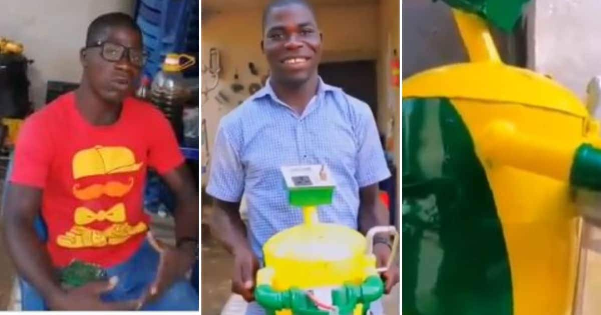 Meet the 26-year-old secondary school graduate who has built a generator that runs on water