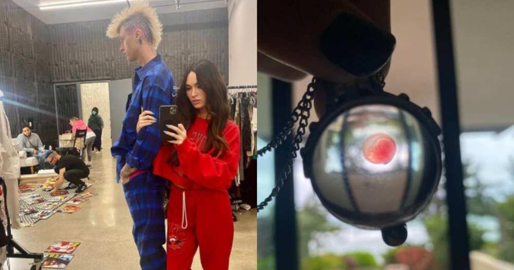 US singer MGK says he wears lover Megan Fox's blood around his neck
