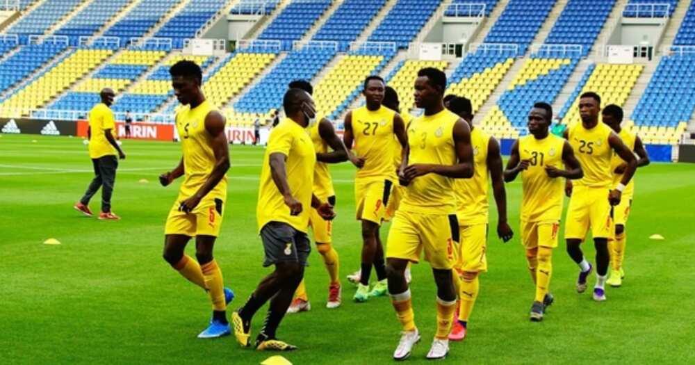 In-form Japan beat Ghana's Black Meteors 4-0 on Tuesday