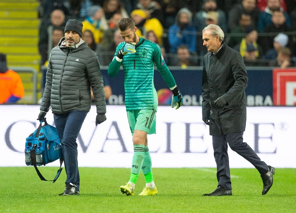 David De Gea suffers muscular injury days before Liverpool Premier League clash