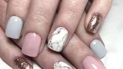 Marble nails: 15 of the most alluring designs to try for beginners