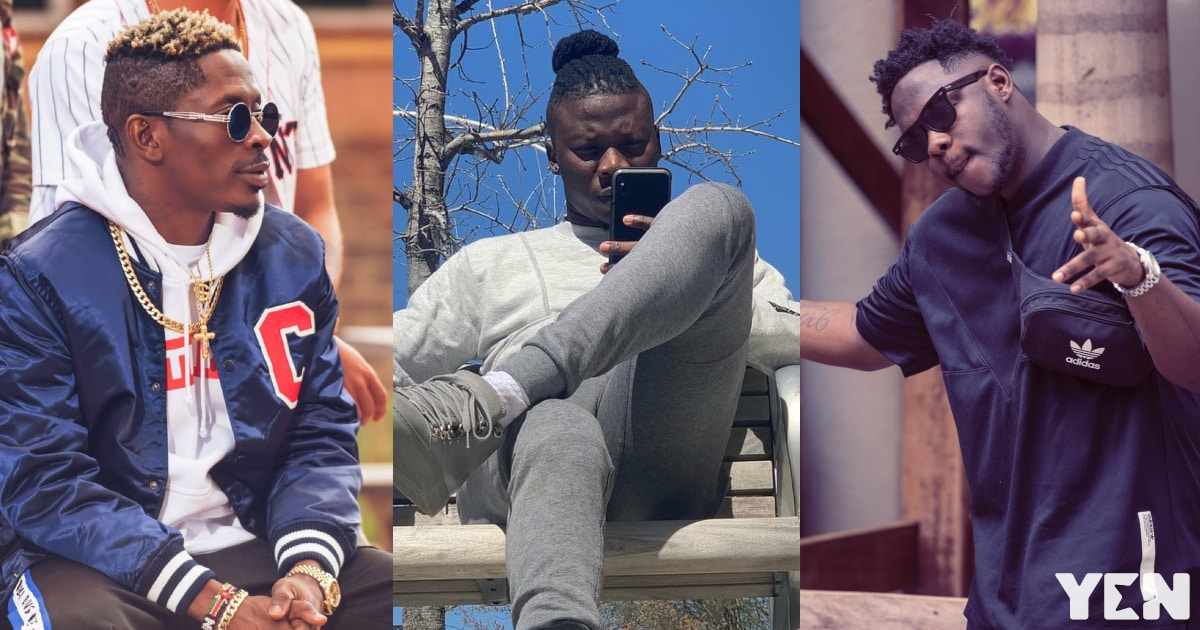 Stonebwoy finally names the best artiste in Ghana with no 'size'