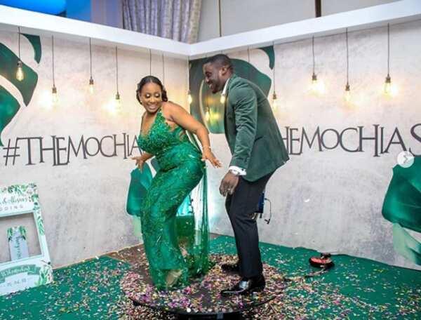 Dazzling photos from Akosua and Sena's lovely wedding