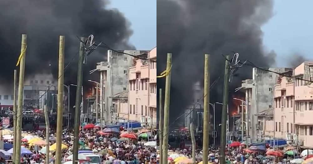 Makola Fire: Service personnel showed up late because they had no water and fuel