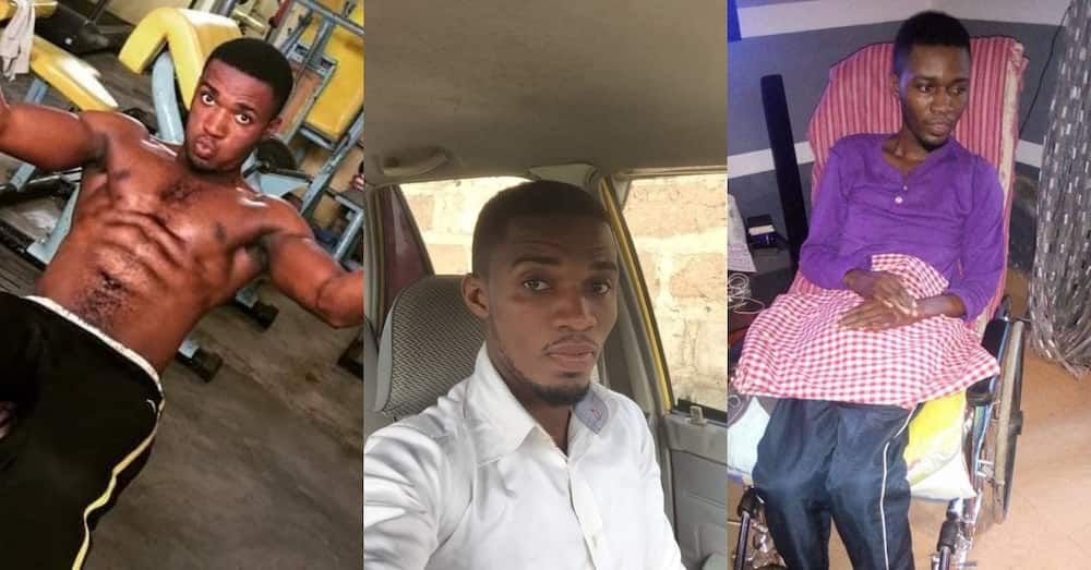 Ghanaian who was ignored since 2016 after loose billboard fell on him at Spintex Road dies
