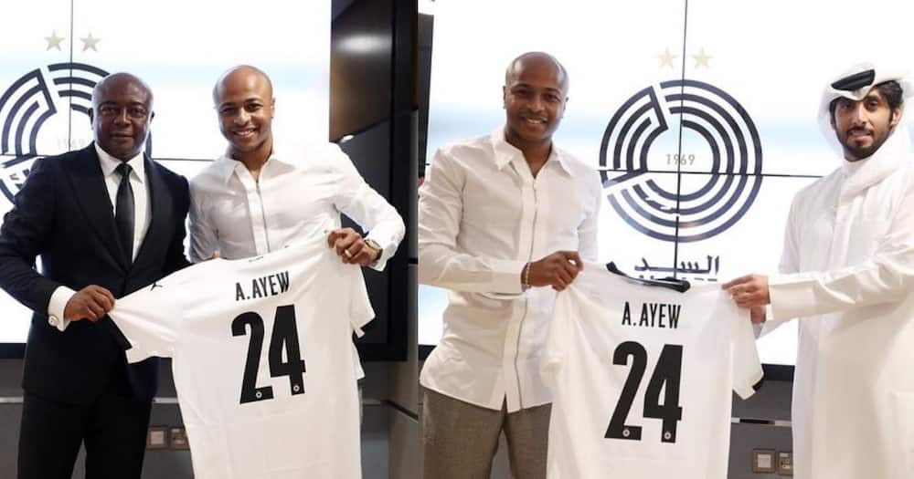 I am here to win titles - Andre Ayew after joining Qatari giants Al Sadd