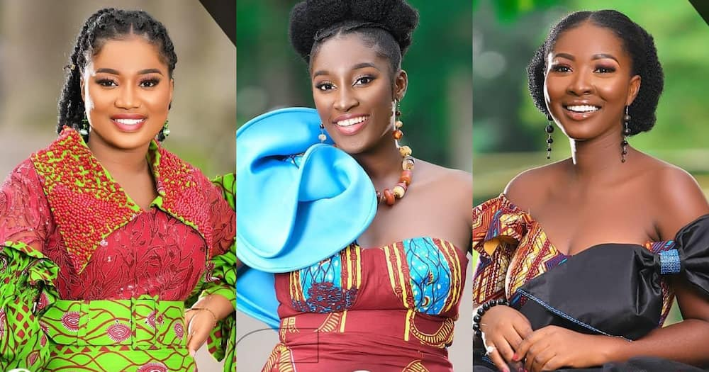 GMB 2021: Names, Photos And Details Of The 16 Contestants Of Ghana's Most Beautiful Season 14
