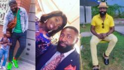 Kumawood actor Bernard Aduse-Poku flaunts beautiful wife and adorable son in new photos