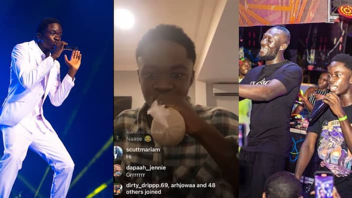 Forgetti obiaa - Yaw Tog reacts to bashing over Stormzy comment; teases critics with 'kooko and koose' in live video