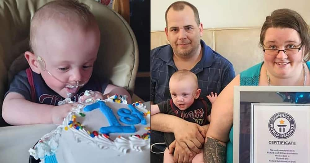 Richard was born at the Children's Minnesota hospital in Minneapolis in 2020.