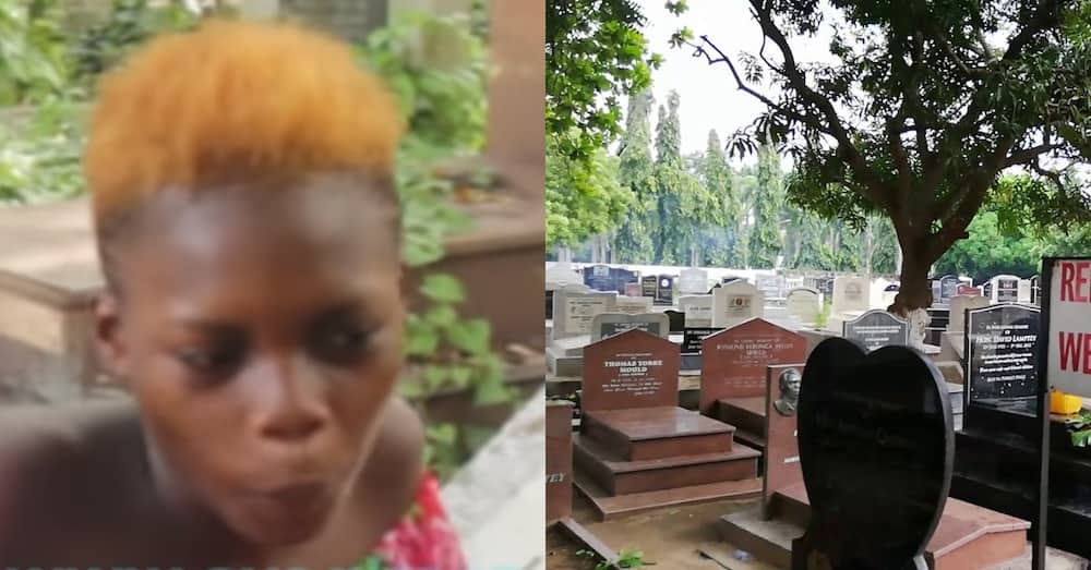 I fear but I manage - Girl who lives at Osu cemetery with boyfriend speaks in video