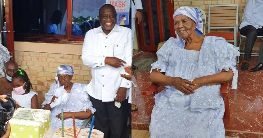 Alan Kyerematen's Mother Celebrates 101st Birthday; Beautiful Photos Pop Up