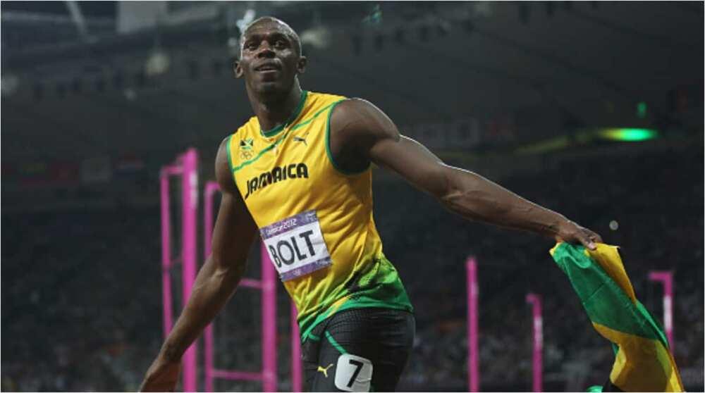 Legendary Olympic champion Usain Bolt welcomes newborn twin sons Thunder and Saint Leo