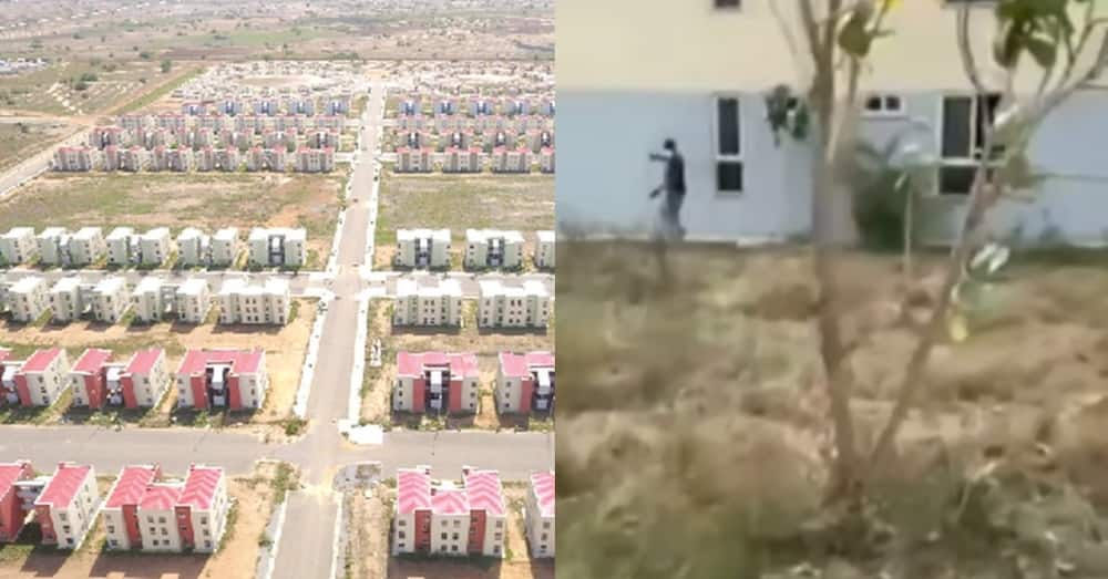 Video of 1502 flats built with taxpayer's money left to waste causes outrage among Ghanaians