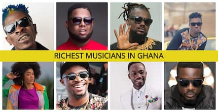 List of the richest musicians in Ghana