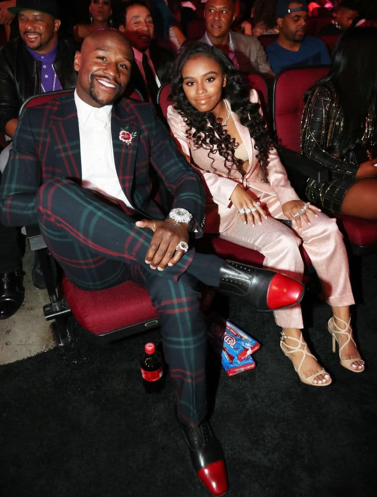 Floyd Mayweather gearing up for grandfather's role as 20-year-old Iyanna confirms she's pregnant