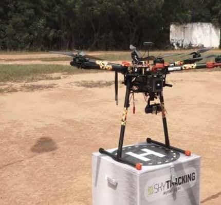 SKTAERO Shutter introduces locally-built drones to boost agriculture