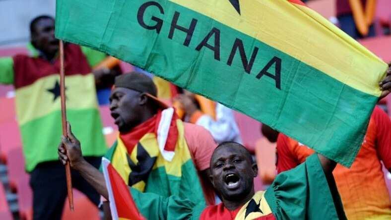 Who designed the Ghana flag