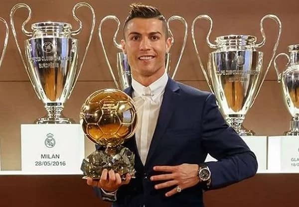 Charitable Cristiano Ronaldo sells Ballon d'Or award for N250m