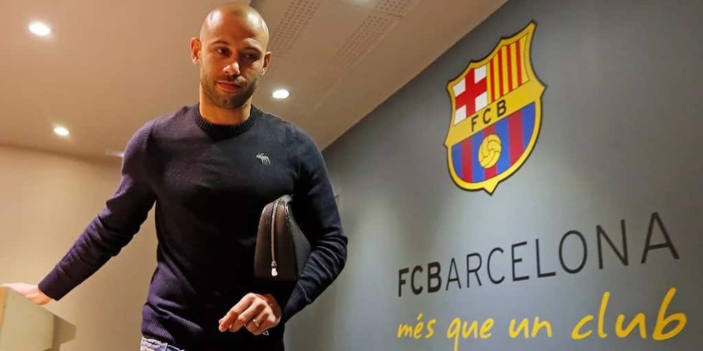 Barcelona's Javier Mascherano set to leave Barcelona for MLS