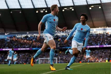 Jesus, Aguero score as incredible Manchester City hammer Arsenal at the Etihad