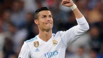 Ronaldo celebrates his 33rd birthday in style