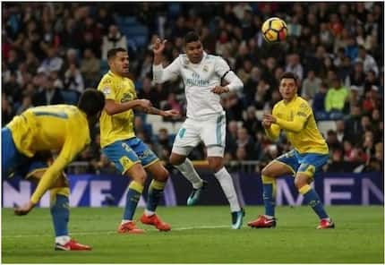 Casemiro scores as Real Madrid decimate Las Palmas at the Bernabeu