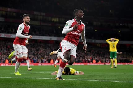 18-year-old attacker emerges hero as Arsenal sinks helpless Norwich