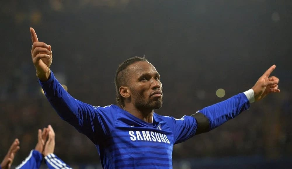 Frank Lampard talks about Drogba's big game mentality