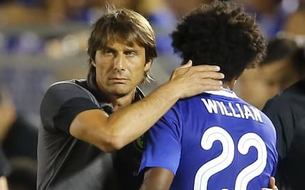 Chelsea star Willian speaks on Antonio Conte's awful relationship with his players