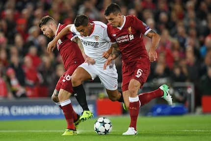 Liverpool forced to a 2-2 draw by Sevilla at Anfield