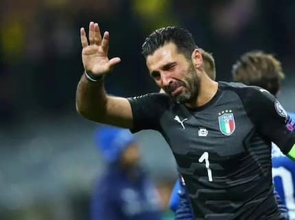 Four Italian footballers including Buffon announce retirement as Italy fail to qualify for 2018 World Cup