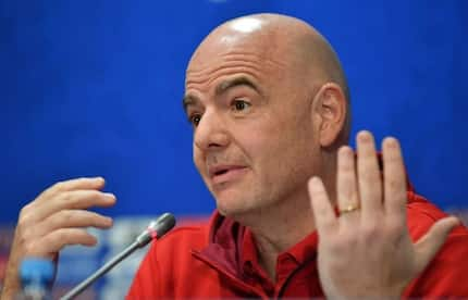 FIFA president Gianni Infantino sets new World Cup date for Qatar 2022