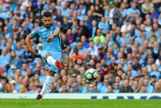 Sergio Aguero becomes Manchester City's record goalscorer