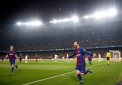 Merciless Messi scores twice as Barcelona destroy Chelsea to qualify for the Champions League quarter final