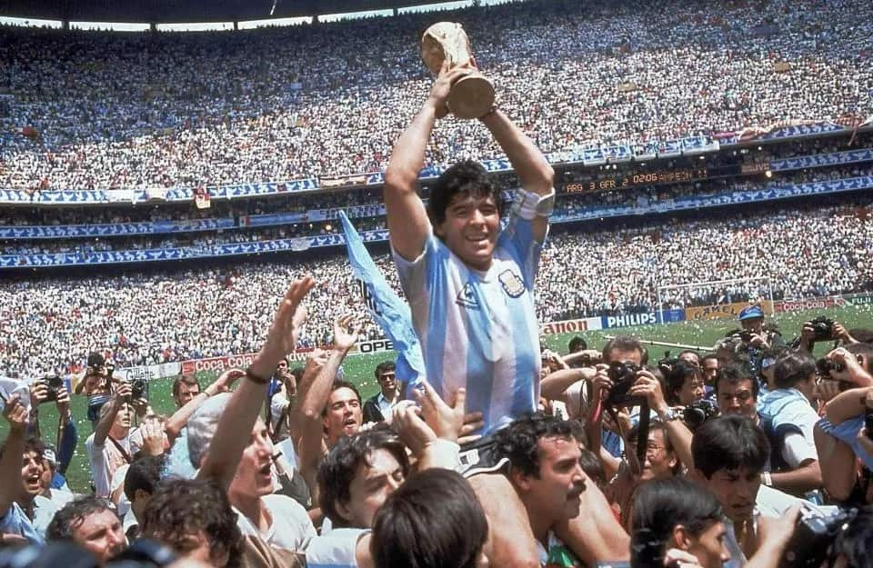 Maradona shares his favorite moments at the World Cup