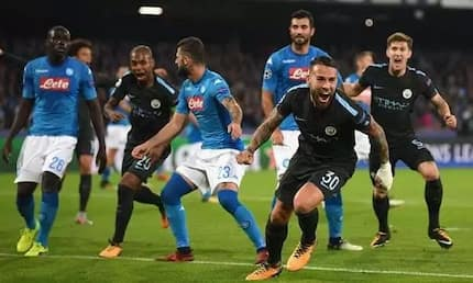 In-form Manchester City hammer Napoli in tough Champions League duel