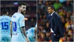 Lionel Messi, Barcelona stars' slams manager despite club topping La Liga