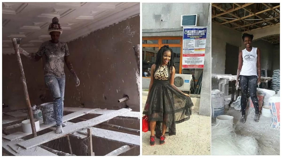Meet beautiful lady who does POP for a living (photos)