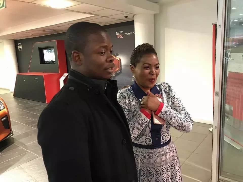 Prophet surprises his wife with Mercedes G-wagon for her birthday (photos, video)