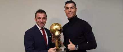 Cristiano Ronaldo wins another prestigious best footballer of the year award after stellar 2017
