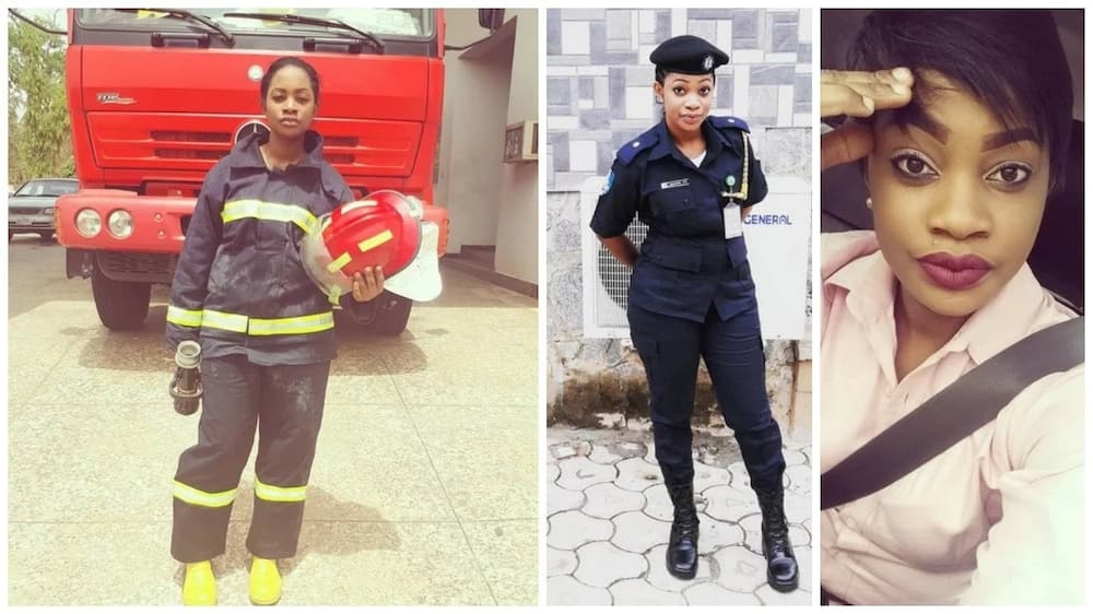 Meet female firefighter who is incredibly beautiful (photos)