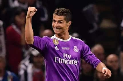 The football star of Cristiano Ronaldo shows off new haircut after lifting Champions League title