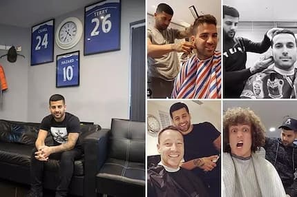 Chelsea sack club barber for an outrageous reason