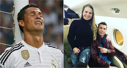 Money problems! Cristiano Ronaldo's sister taken to court for owing GHC6980 (photos)