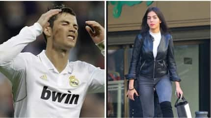 Read what Ronaldo did to his girlfriend after Real Madrid's defeat to Barcelona